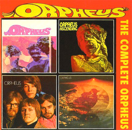 Complete Orpheus - CD Art