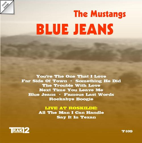 Blue Jeans - Mustangs: Sherry Rayn Barnett, Ruth Gunderson, Mary Landers, Suzanna Spring, Kathi Taylor, Mary Vee