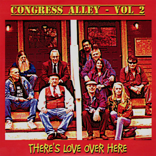 Congress Alley Benefit CD Vol. 2 - There's Love Over Here