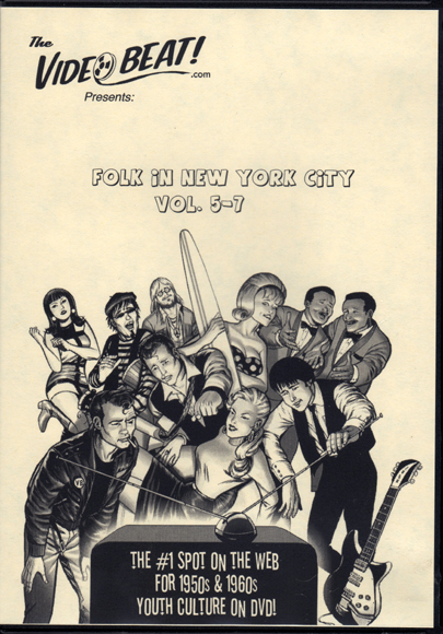 ''Folk in New York City, Vols. 5-7'' DVD