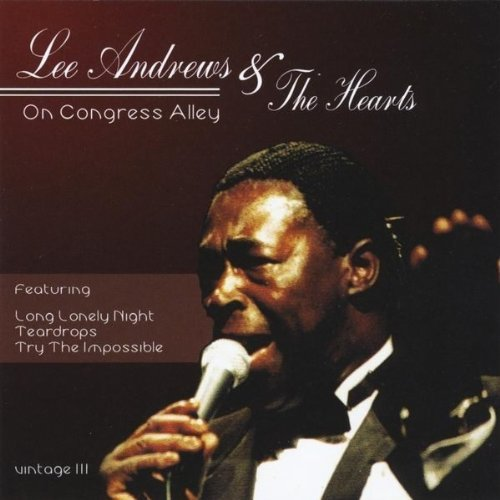 ''Lee Andrews & the Hearts - On Congress Alley (Vintage III)'' - Passtime Records, album art