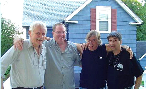 with the Worm Brothers - 2005