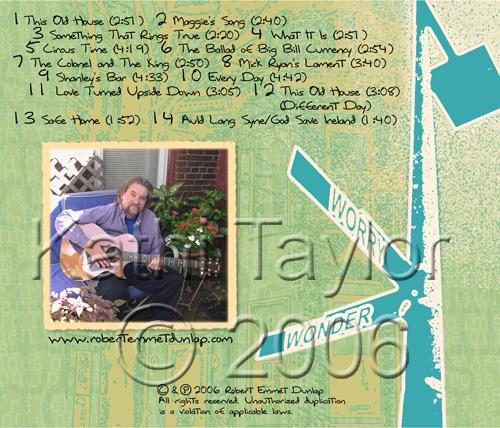 Notes From Home: Robert Emmet Dunlap, Kathi Taylor