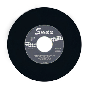 ''Song Of The Traveler'' - the College Boys - Swan S-4166-S, production copy